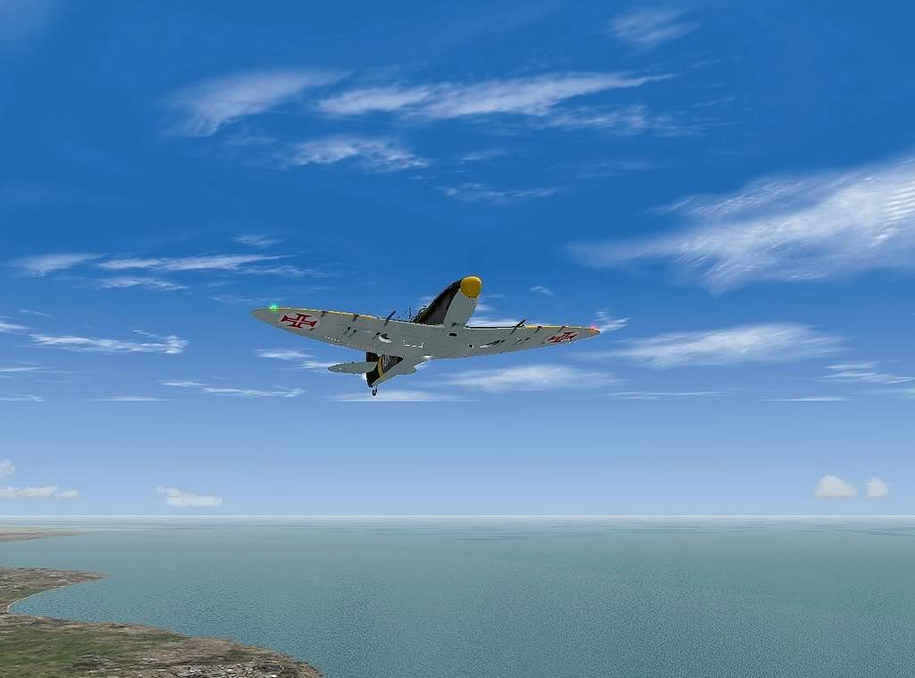 [FS9] Spitfire Mk VB da FAP - Patrulhando no Algarve Screenshot312