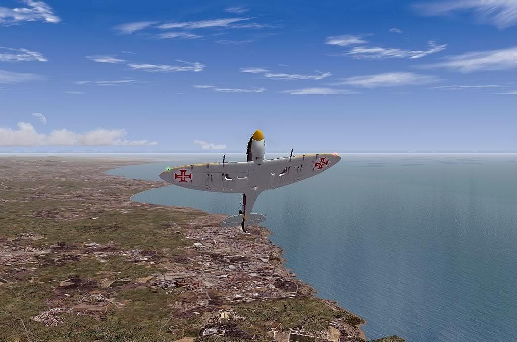 [FS9] Spitfire Mk VB da FAP - Patrulhando no Algarve Screenshot313