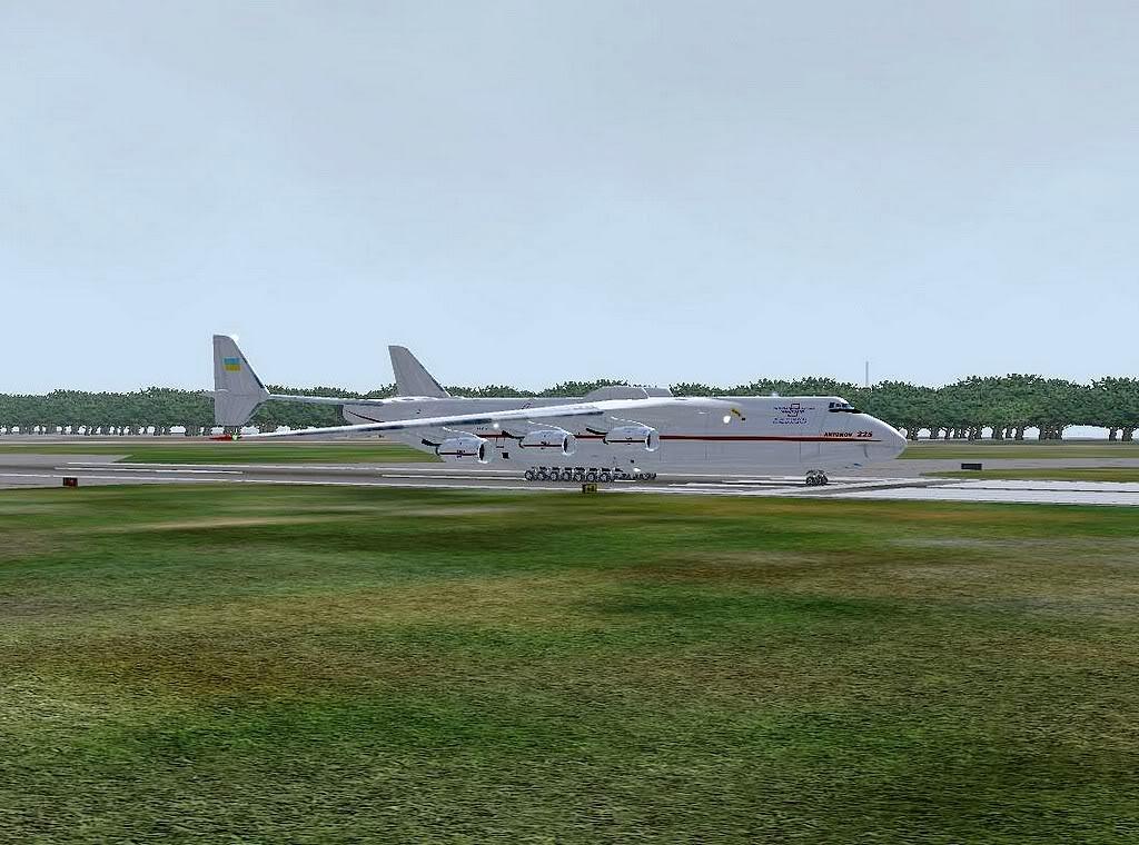[FS9] - Escala do Antonov 225 em LPPR Antonov-22509