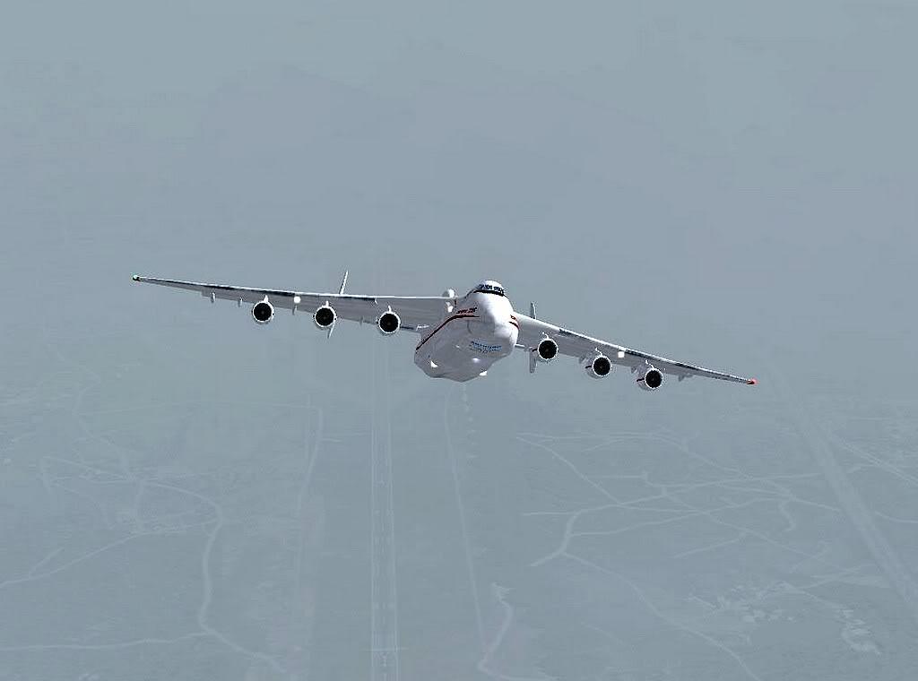 [FS9] - Escala do Antonov 225 em LPPR Antonov-22511