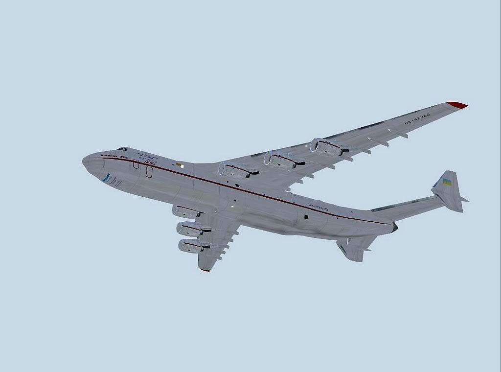 [FS9] - Escala do Antonov 225 em LPPR Antonov-22515