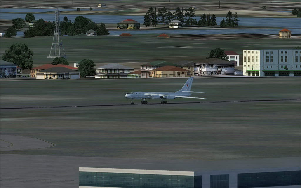 [FS9] LISUNOV LI 2 voando de Astrakhan para Atyrau TU-9502