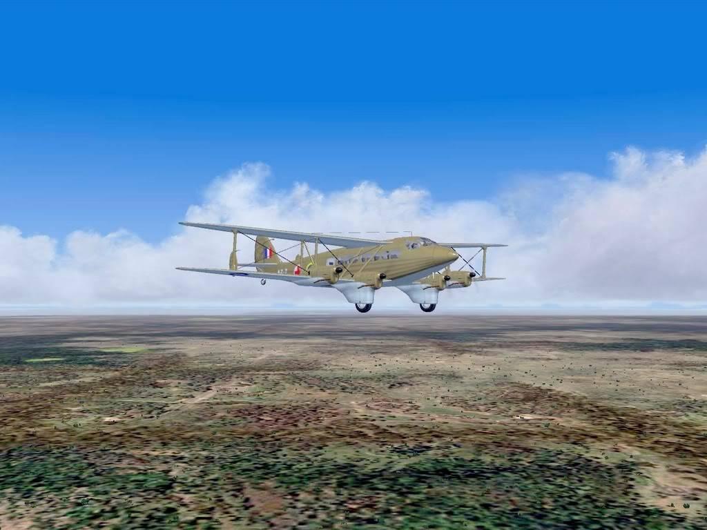 [FS9] - DH.86 Express - Missão Humanitária no Congo 104200815-35-56