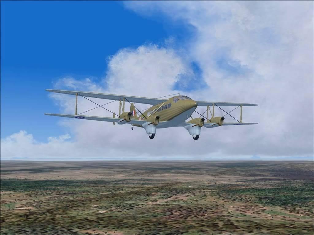 [FS9] - DH.86 Express - Missão Humanitária no Congo 104200815-37-43