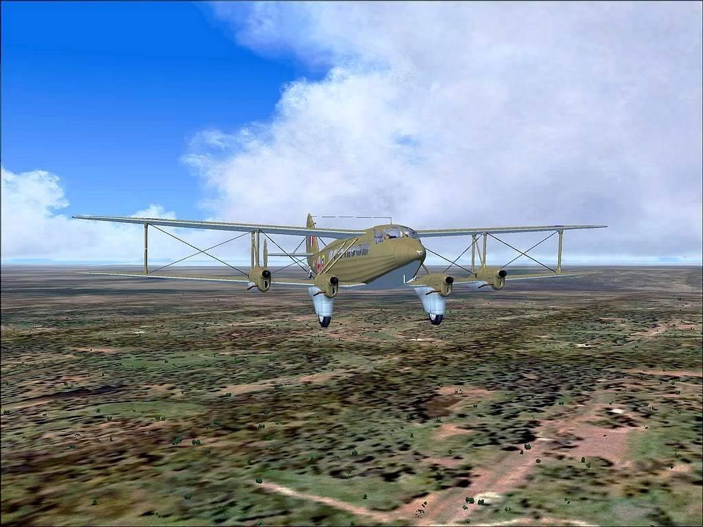 [FS9] - DH.86 Express - Missão Humanitária no Congo 104200815-38-9