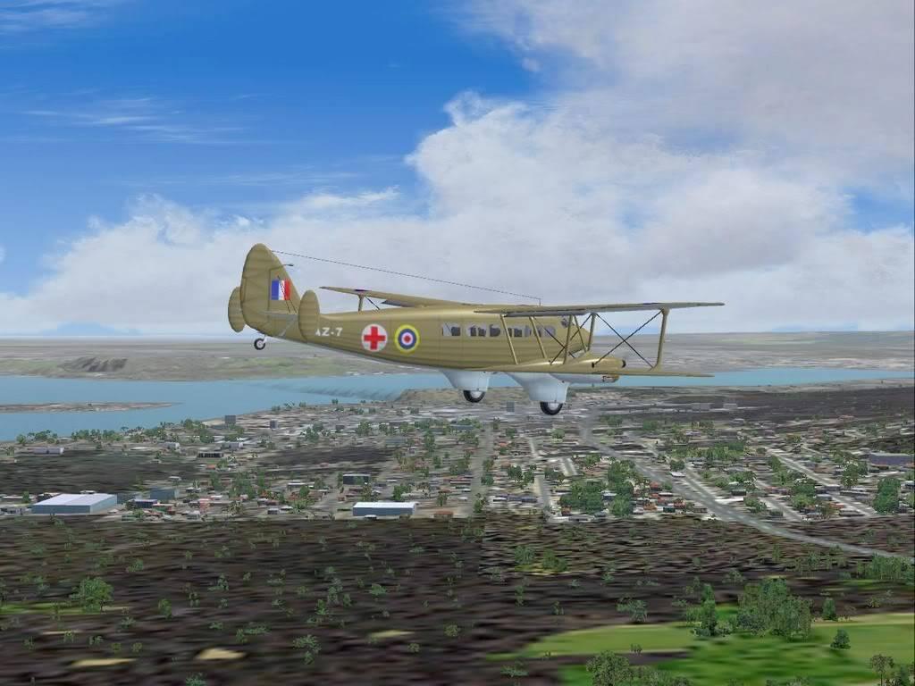 [FS9] - DH.86 Express - Missão Humanitária no Congo 104200815-51-17
