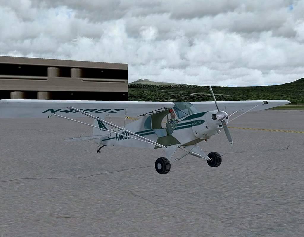 [FS9] - Voando no Alaska com a Piper 18 SuperCub PA15_SuperCub01