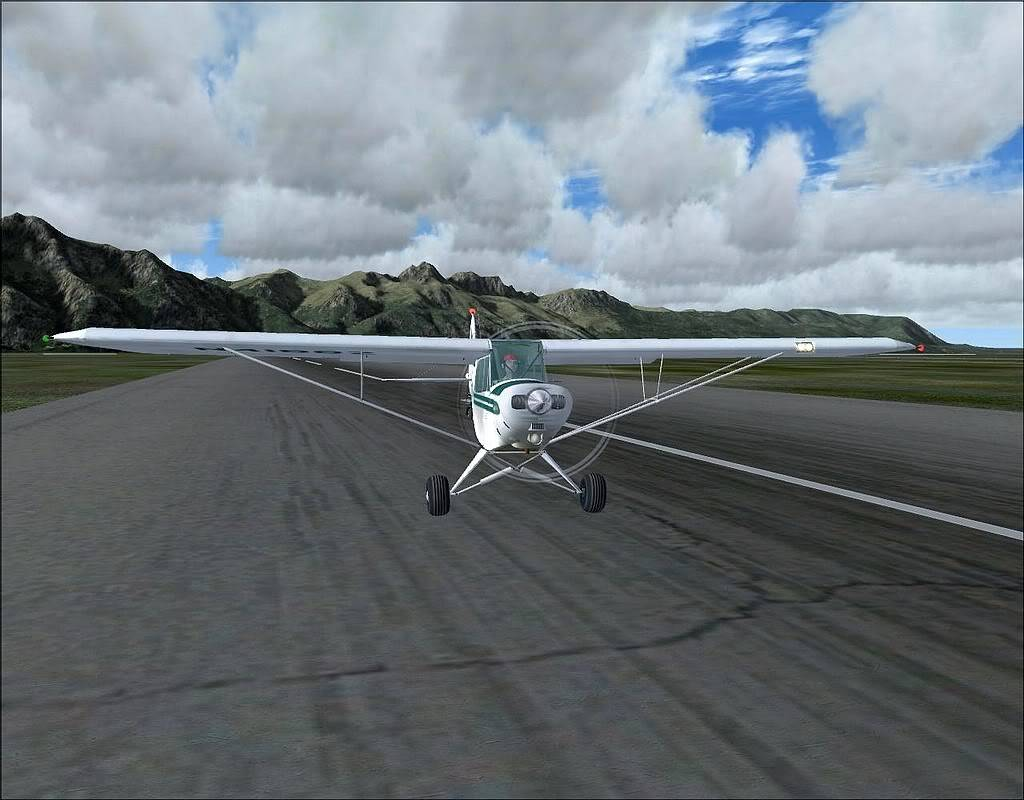 [FS9] - Voando no Alaska com a Piper 18 SuperCub PA15_SuperCub03