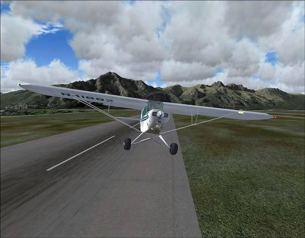 [FS9] - Voando no Alaska com a Piper 18 SuperCub PA15_SuperCub04