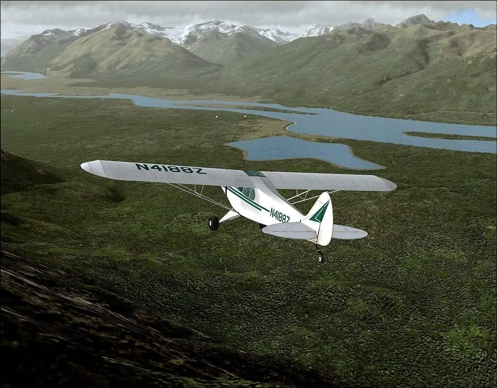 [FS9] - Voando no Alaska com a Piper 18 SuperCub PA15_SuperCub07