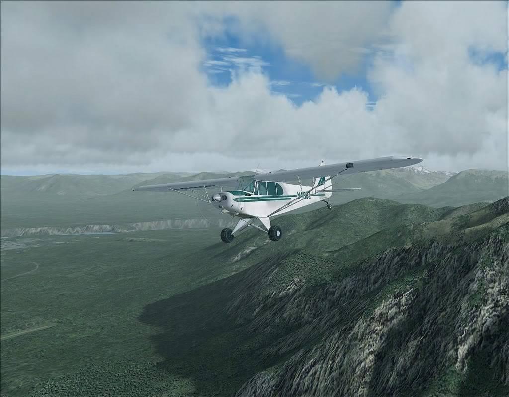 [FS9] - Voando no Alaska com a Piper 18 SuperCub PA15_SuperCub08