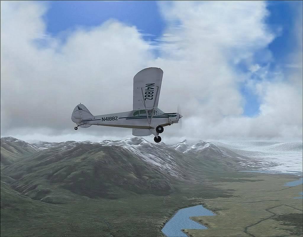 [FS9] - Voando no Alaska com a Piper 18 SuperCub PA15_SuperCub09