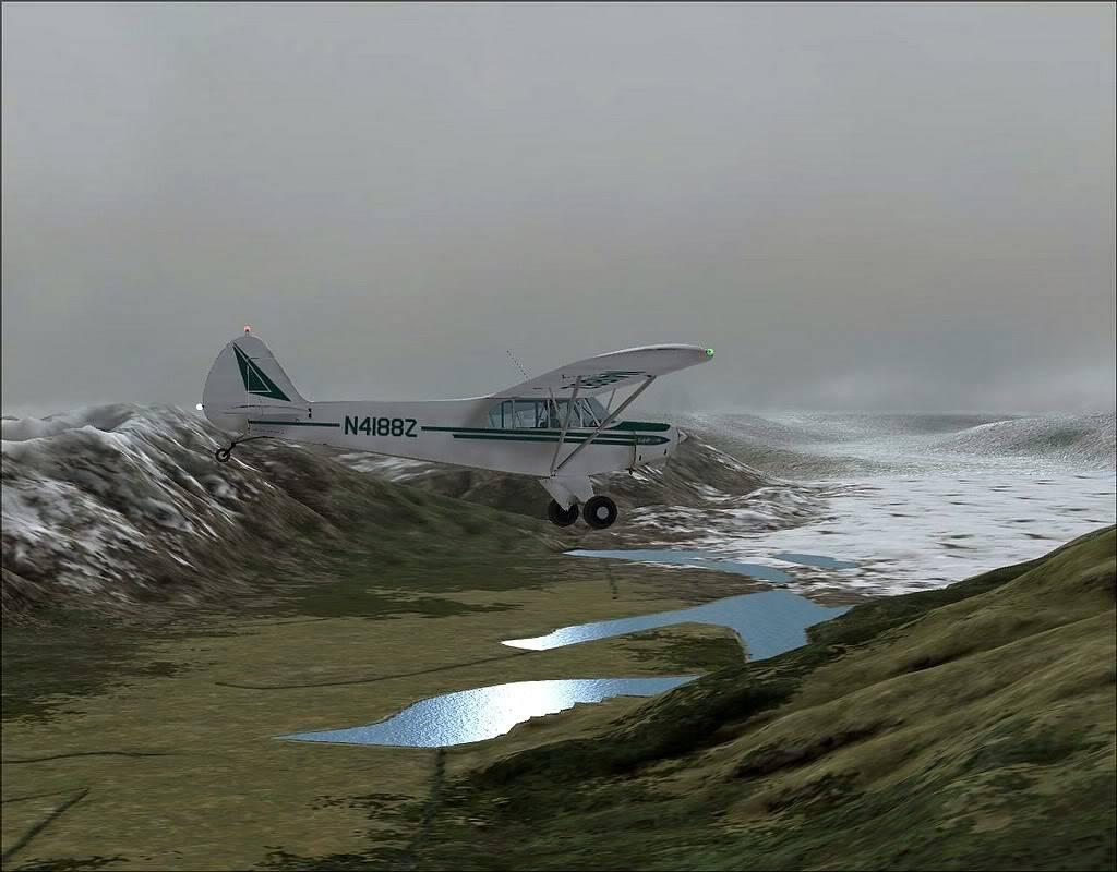 [FS9] - Voando no Alaska com a Piper 18 SuperCub PA15_SuperCub11