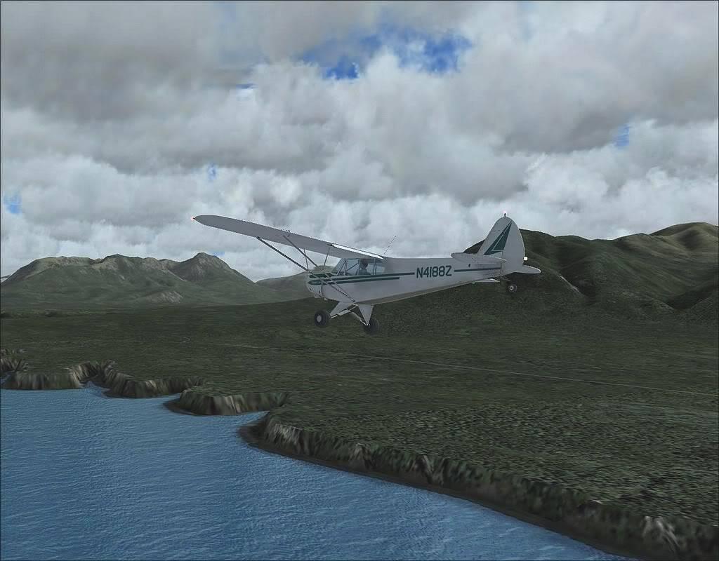 [FS9] - Voando no Alaska com a Piper 18 SuperCub PA15_SuperCub13