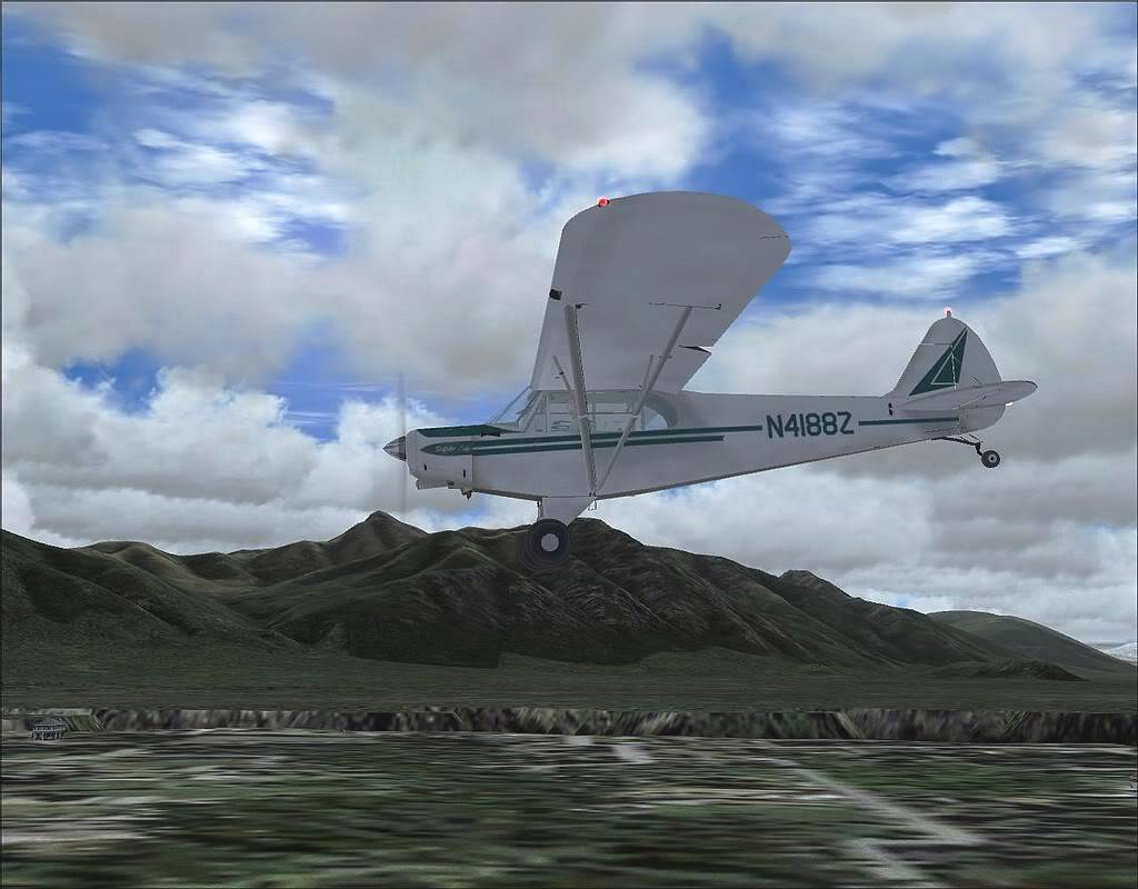 [FS9] - Voando no Alaska com a Piper 18 SuperCub PA15_SuperCub15
