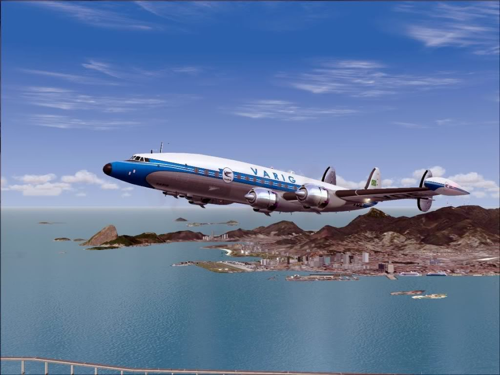 [FS9] - L-1049G Super Constellation da VARIG Screenshot71