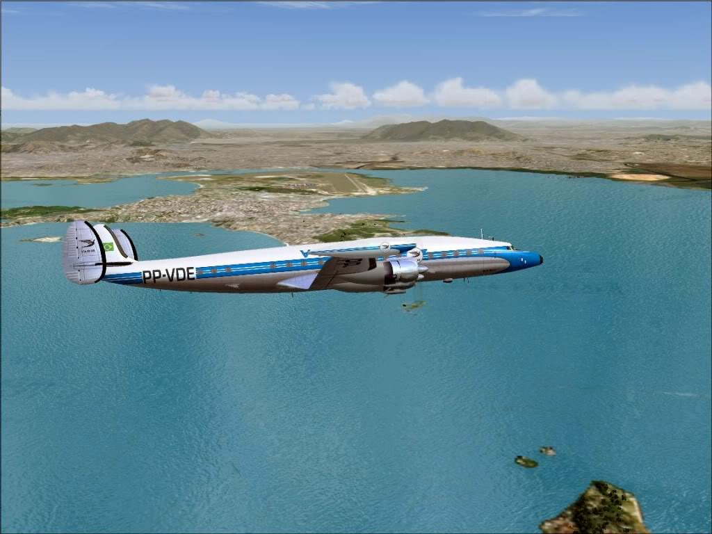 [FS9] - L-1049G Super Constellation da VARIG Screenshot79