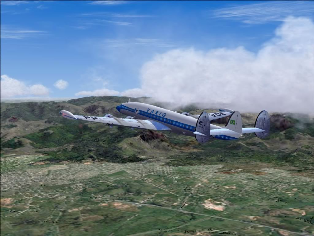 [FS9] - L-1049G Super Constellation da VARIG Screenshot82
