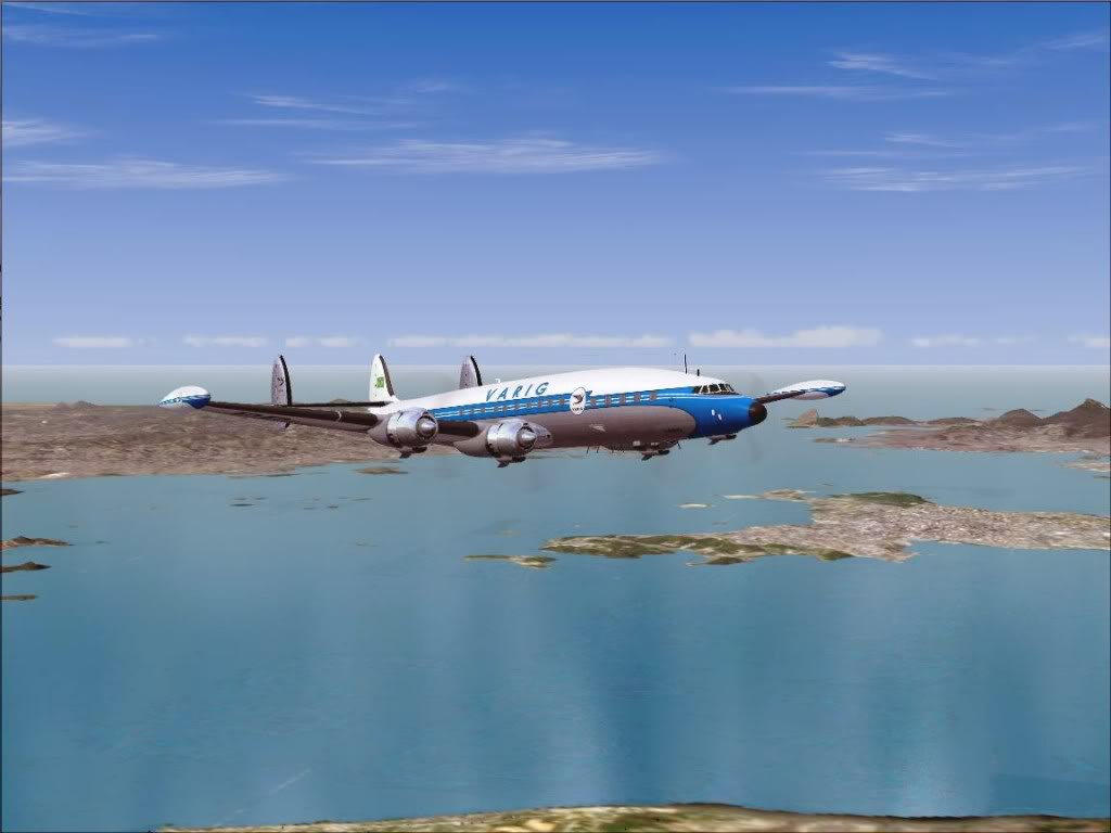 [FS9] - L-1049G Super Constellation da VARIG Screenshot83