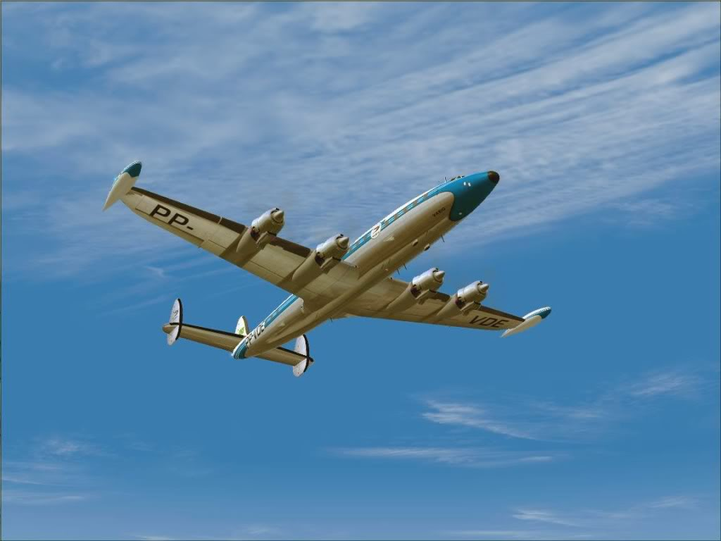 [FS9] - L-1049G Super Constellation da VARIG Screenshot84