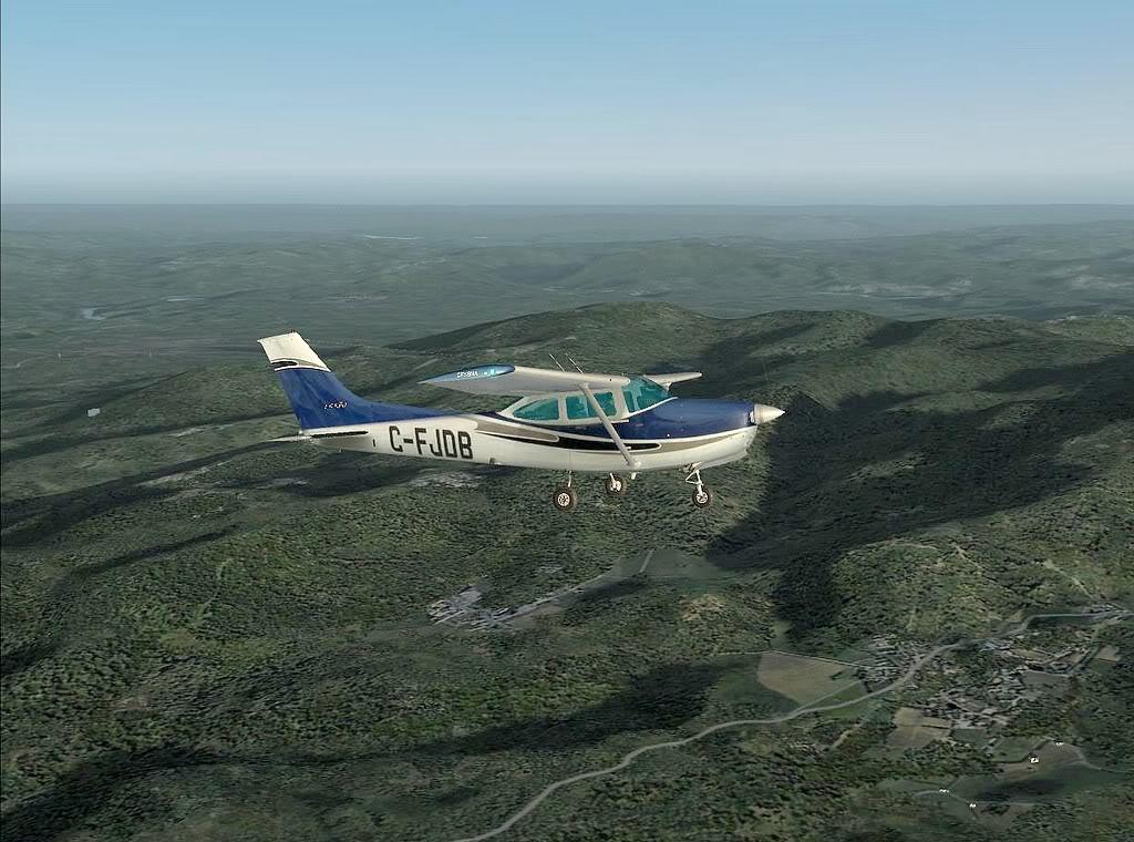 [FS9] - Imagens de voos no fim de semana 721200820-20-42