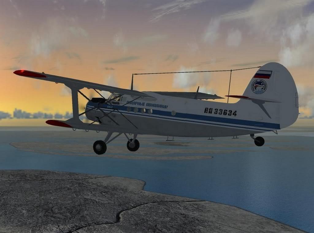 [FS9] - Imagens de voos no fim de semana An202