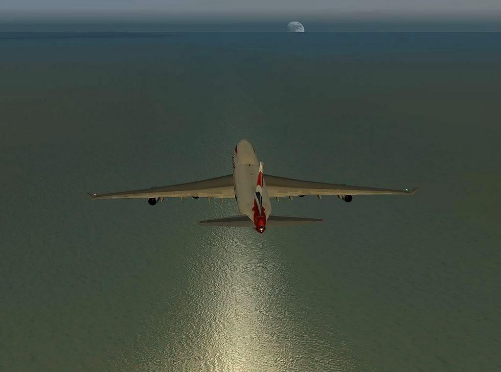 [FS9] - Imagens de voos no fim de semana B747-BA02