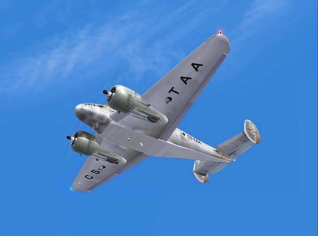 [FS9] - Aeronaves que fizeram fama.... BeechD18_Sata02