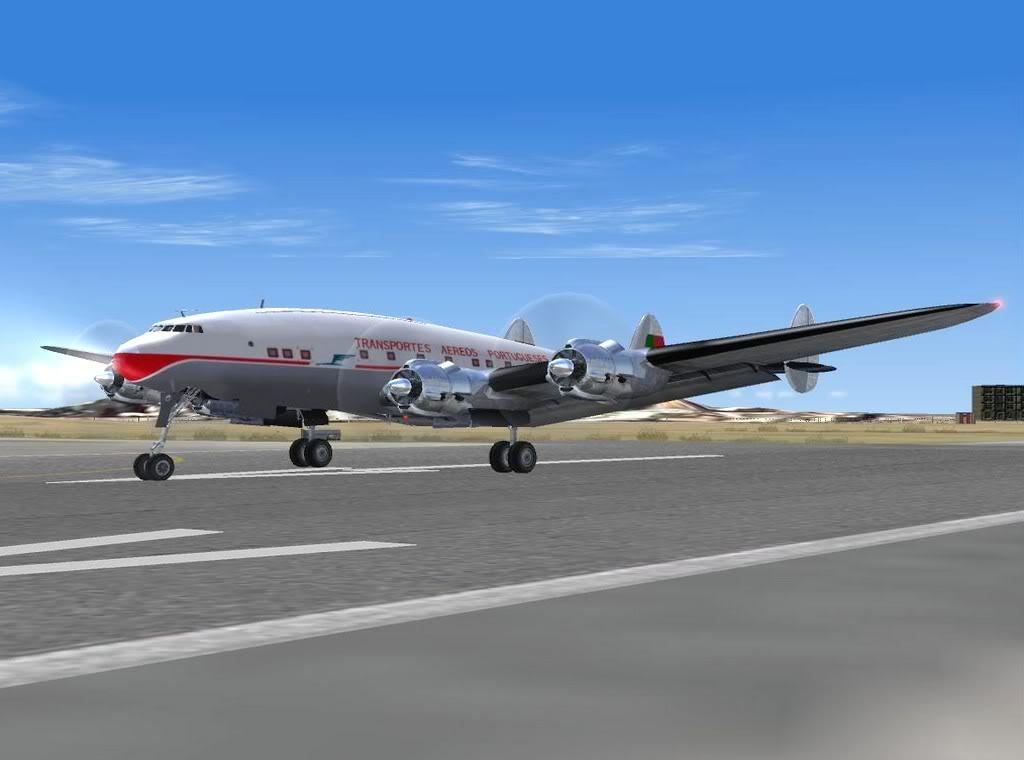 [FS9] - Aeronaves que fizeram fama.... Constellation_TAP03
