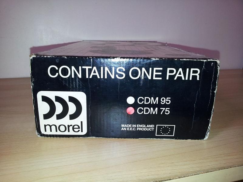 [WTS] Rare Morel Midrange CDM75 20121113_112530