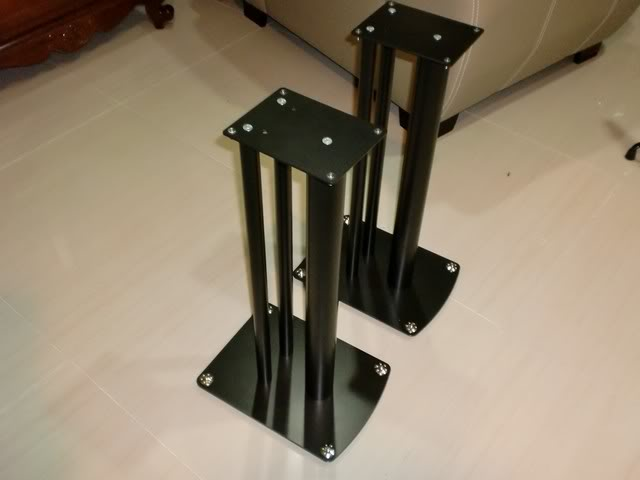 """[WTS] Custom made Enclosure for 7"""" midbass  with soundstyle Z2 speaker stand CIMG0486"""
