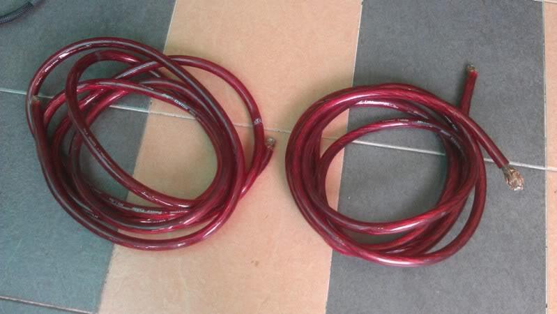 [WTS] Stinger Custom Pro 1/0 Gauge power cable IMAG0029
