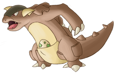 (ACE) The MARSH Team  - Page 3 Rhea_the_kangaskhan_by_birdmaddgirl-d4nyhdl