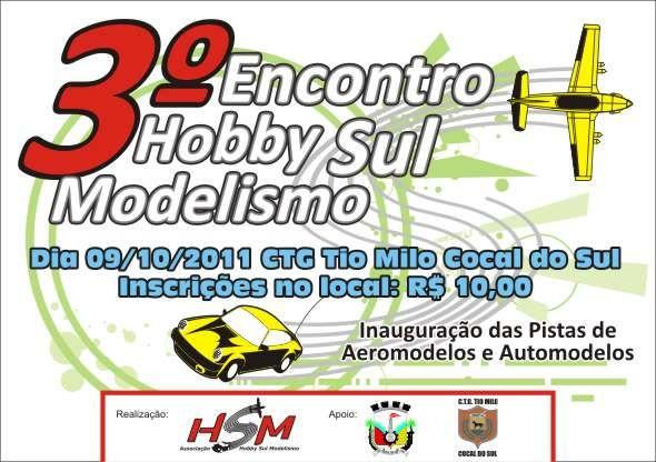 3º Encontro Hobby Sul Modelismo - 09/10/2011 LogoAHSM-09102011