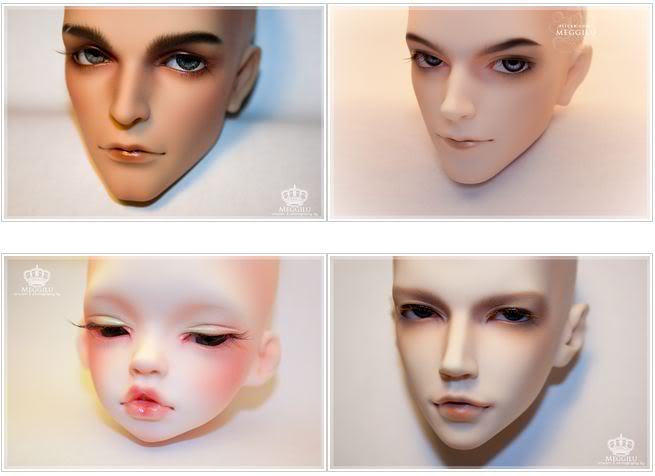 Creating eyebrows for BJD tutorial (Part 1) Meggilu