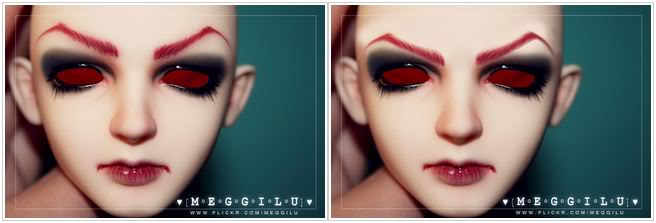 Creating eyebrows for BJD tutorial (Part 1) Meggilu1