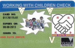 Watchtower forçada a seguir lei de protecção de menores na Austrália WorkWithChildrenCheck1