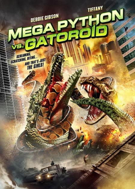 حصرياً فيلم الرعب والخيال العلمي الرهيب Mega Python vs Gatoroid 2011 مُترجم بجودة BDRip على اكثر من سيرفر Affiche-mega-python-vs-gatoroid-2011-1