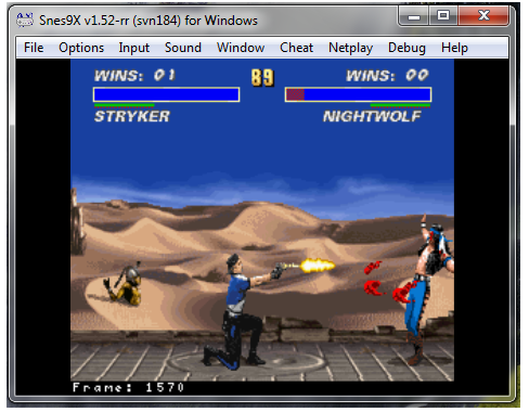 Making a basic-TAS using SNES Emulator  2