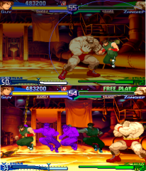 Street Fighter Alpha/Zero Warriors Dreams (Arcade) Kattobi