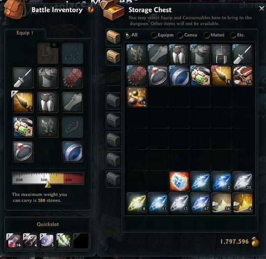 What's does your inventory look like? Inventory1