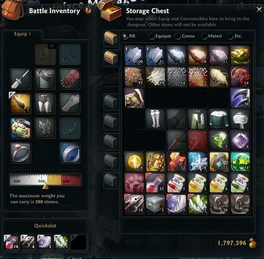 What's does your inventory look like? Inventory2