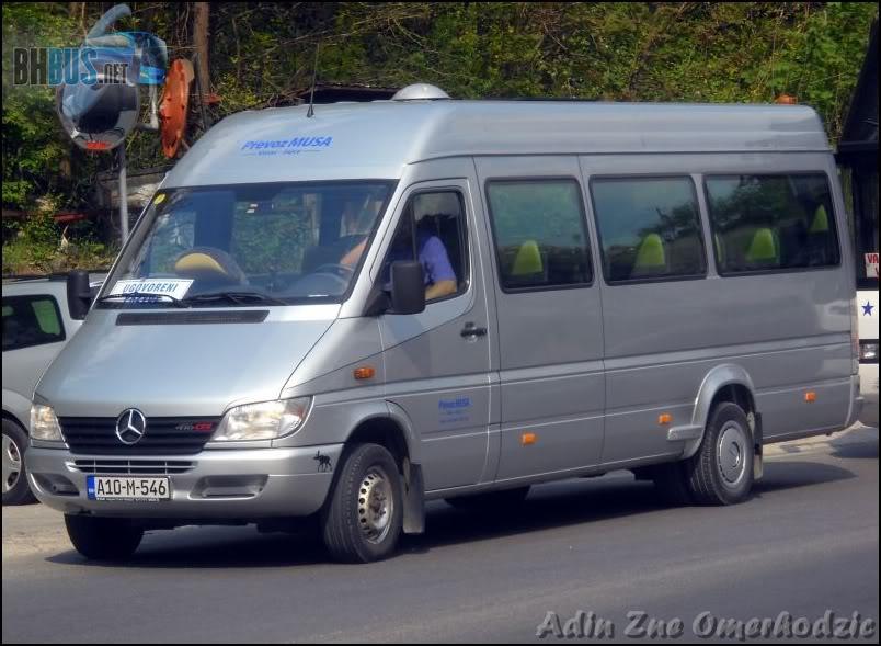Prevoz Musa, Vinac-Jajce  DSCN9453
