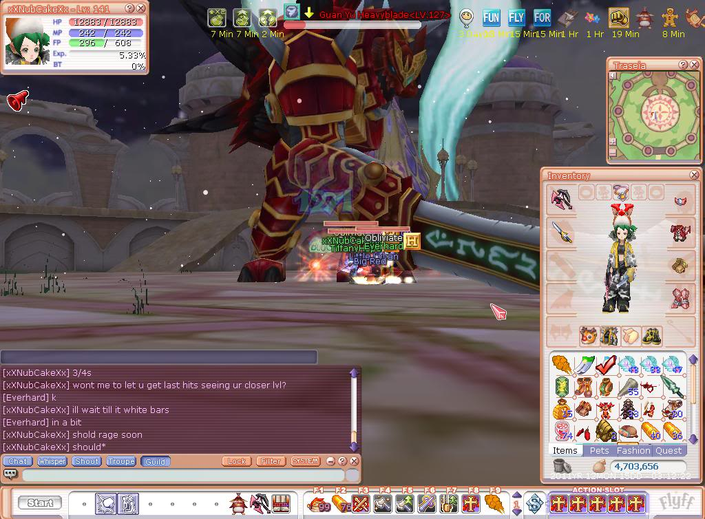 Guild Leads Kills First Boss Together  Flyff00001