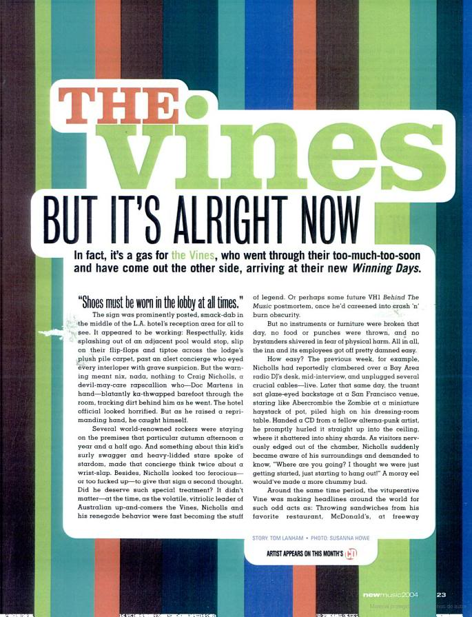 Vines magazine and newspaper articles (from the old forum) - Page 3 2-3