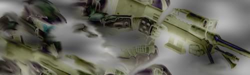 Random Graphical Work Halo-1