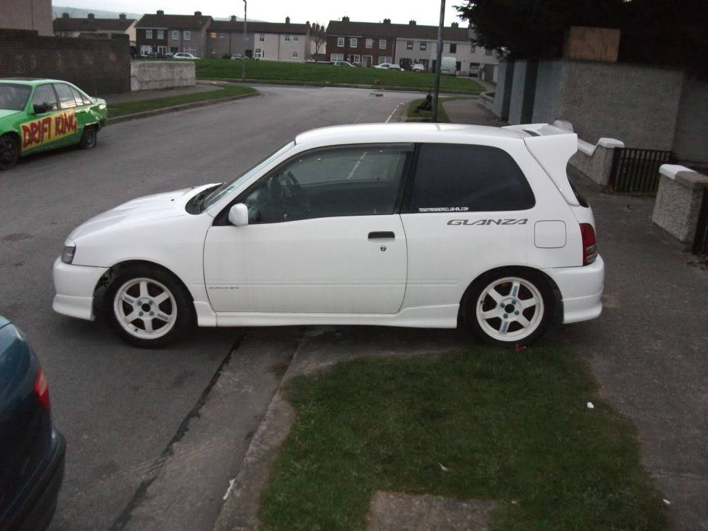 My 98 Glanza V optional extra build Glanza023