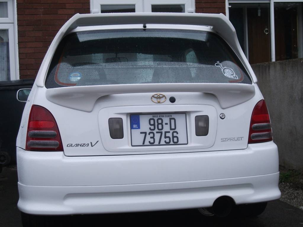 My 98 Glanza V optional extra build T005