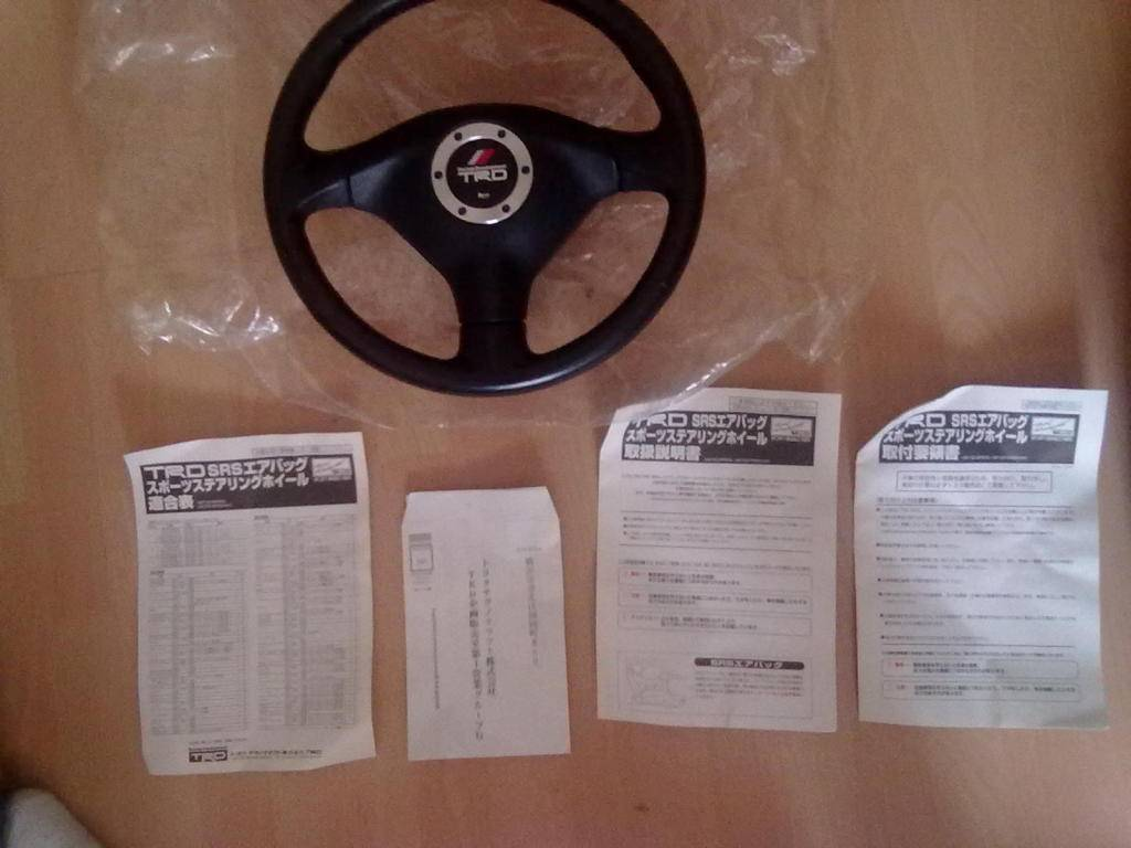 My 98 Glanza V optional extra build Trdsteeringwheel003