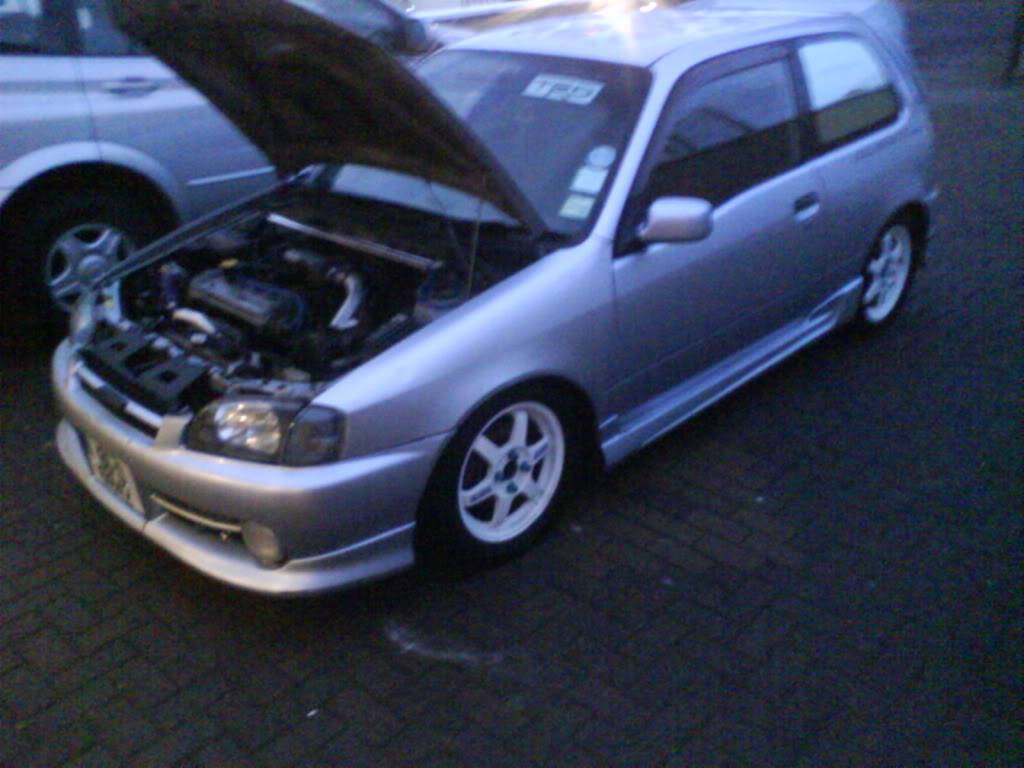 My 98 Glanza V optional extra build 006